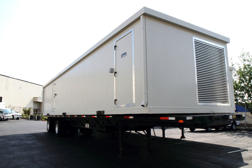 Federal Government: Custom CBR air handling unit with pre-piped service vestibule