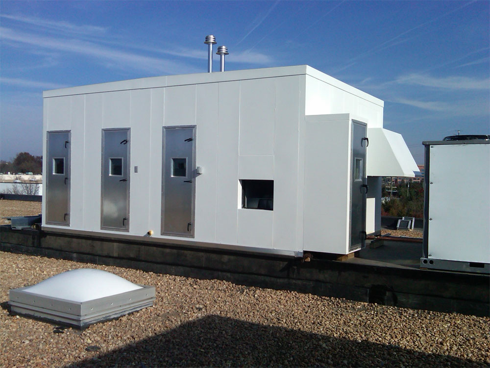 Custom Air Handling Units For Government Military Health