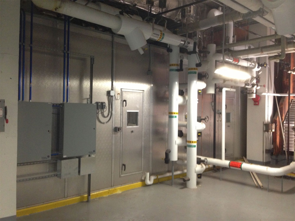 Collegiate : 75,000 CFM field-built air handling unit for George Washington University